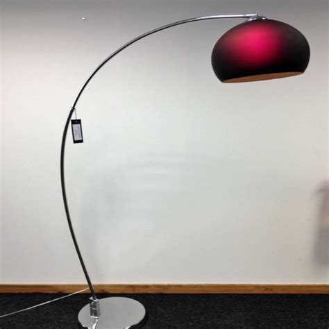 arching floor l uk retro lighting retro lighting lrfloorpurple 1 light modern
