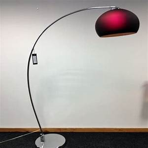 Retro lighting retro lighting lrfloorpurple 1 light modern for Retro floor reading lamp