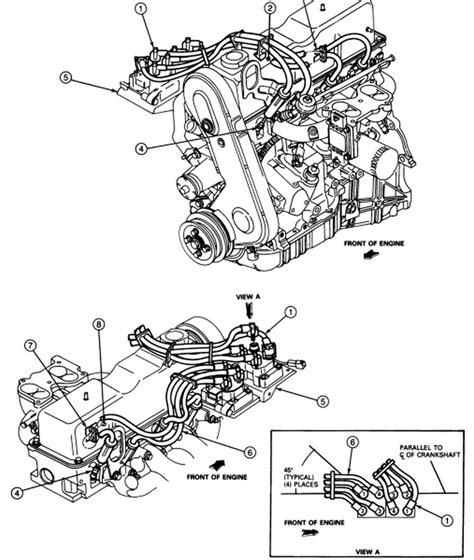 Ford Ranger Cyl With Dual Spark Plugs Coil