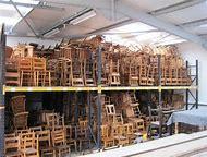 Antique Church Chairs