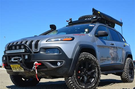 jeep grand cherokee trailhawk lifted 2014 2017 jeep cherokee kl lift kits accessories