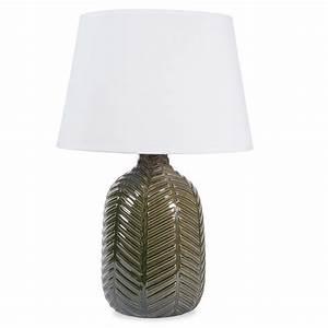 Lampe Cuivre Maison Du Monde : lampe en c ramique verte h 36 cm namibie maisons du monde exotique pinterest lampes en ~ Teatrodelosmanantiales.com Idées de Décoration