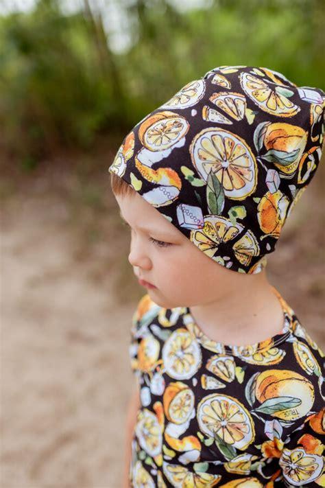 CITRONU cepure bērniem, MELNA - - Aksesuāri - e-VEIKALS ...