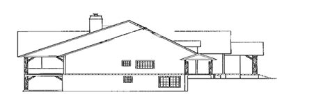 Country Style House Plan 3 Beds 4 Baths 2843 Sq/Ft Plan