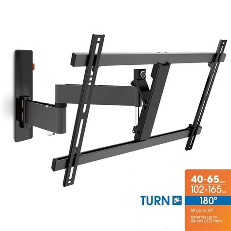 support mural tv orientable 180 vogel s wall 2345 support tv mural orientable 40 224 fixation support tv avis et prix pas