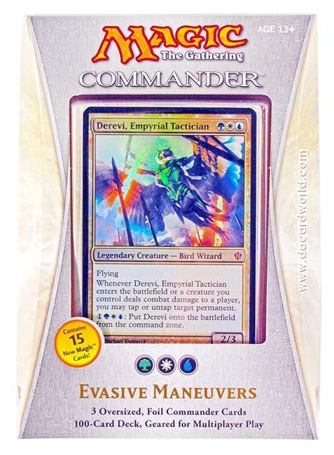 magic the gathering commander deck 2013 evasive