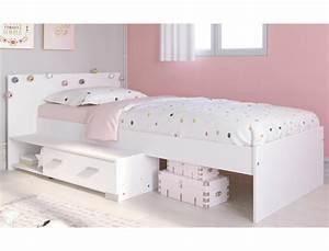 Jugendbett Weiß 90x200 : jugendbett galeno 16a wei 90x200 stauraumbett jugendzimmer bett wohnbereiche kinder ~ Orissabook.com Haus und Dekorationen