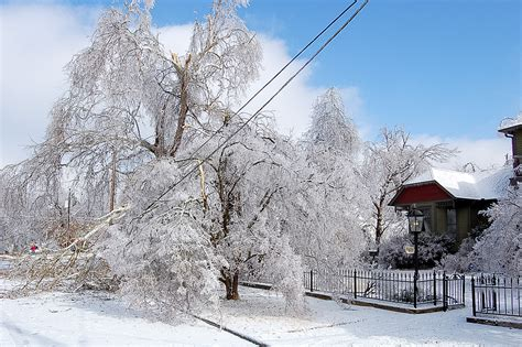 remembering   ice storm  fayetteville