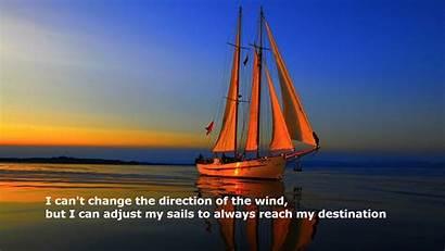 Destination 20th January Wind Change Sails Adjust