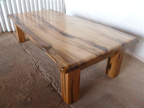 Raw Wood Bar Stools by Marri Slab Coffee Table 171 Arcadian Concepts Specialising