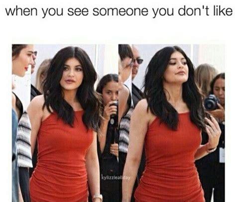 Kylie Jenner Meme - kylie jenner meme gives an attitude random pinterest kylie jenner jenners and memes