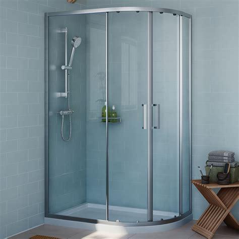 cooke lewis exuberance offset quadrant shower enclosure