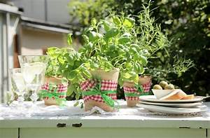 Italienische Deko Ideen : sommer italien kr uter tisch deko kr uter topf kuehne ~ Lizthompson.info Haus und Dekorationen