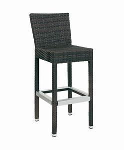 Chaise De Bar Exterieur : m0058 chaise haute le mobilier du pro ~ Melissatoandfro.com Idées de Décoration
