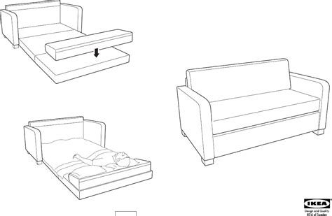 how to assemble ikea sofa bed download ikea solsta sofa bed assembly instruction for