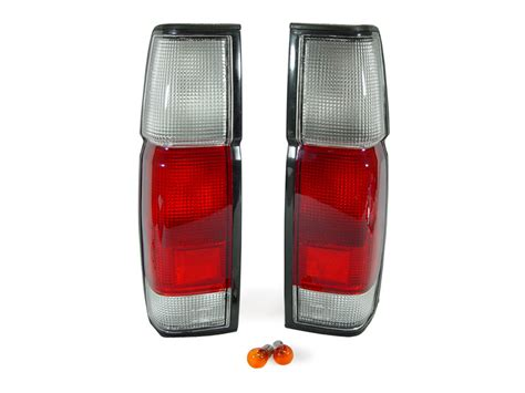 Depo Red Clear Tail Lights Corner For 1990 1997 Nissan