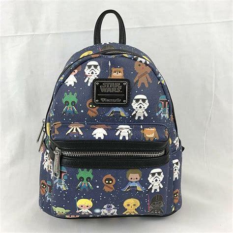 Star Wars Chibi Mini Backpack Bag Purse Faux Leather ...