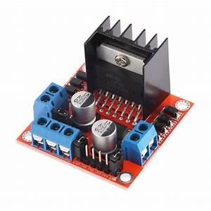 Stepper, Motor, Drive, Controller, Board, Module, L298n, Dual, H