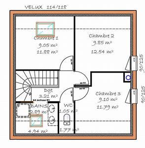 plan maison a etage 3 chambres ventana blog With plans de maison gratuit 3 detail du plan de maison unifamiliale w3928