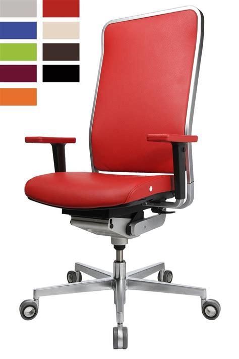 les de bureau design siege ergonomique design avec cadre chromé wagner w1