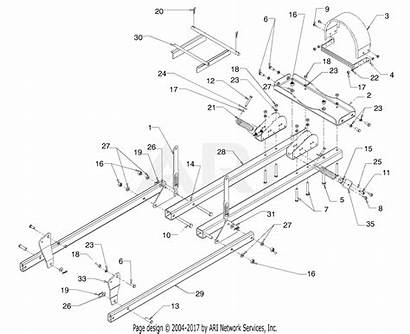Snow Thrower Attachment 1998 Diagram Parts 1997