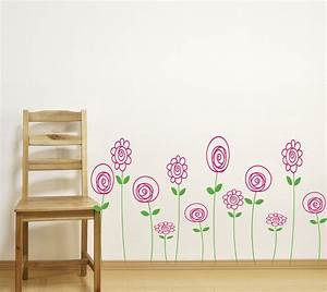 children wall decals doodle wall art baby girl nursery With kids wall decals