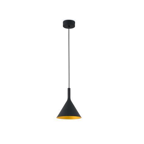 pam p led lampe suspension noir   faro