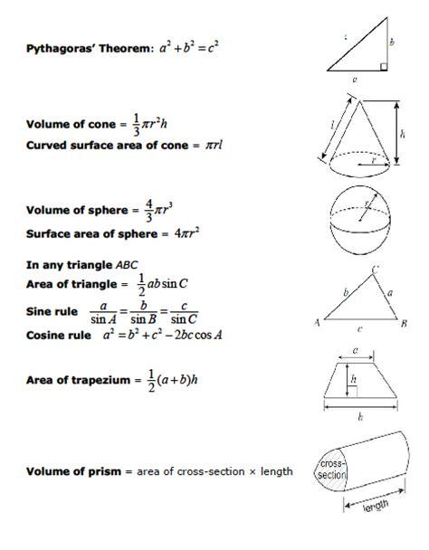 edexcel as maths formula sheet exam formula sheets revision maths