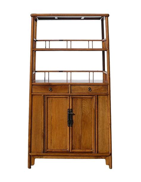 Wood Bookcase Cabinet by Light Wood Bookcase Display Storage Cabinet