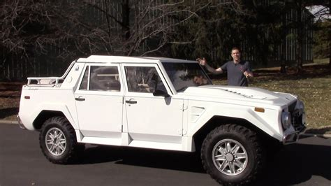 Here's Why the Lamborghini LM002 Is Worth $400,000 - YouTube