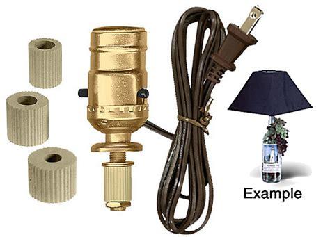 National Artcraft Lamp Making Kits With Medium Edison