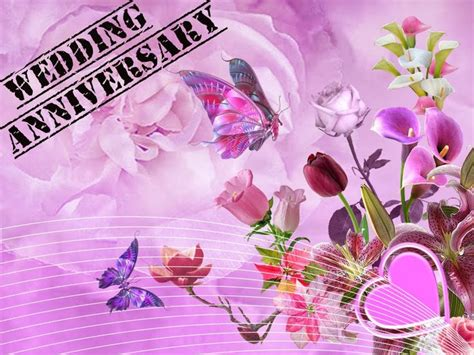 purple happy wedding anniversary message marriage anniversary  wishes images wallpapers