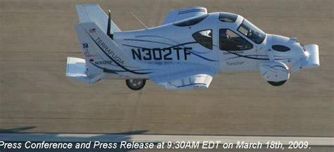 automobili volanti estropico test di volo per automobili volanti