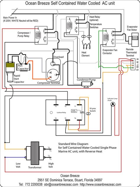 goodman air handler wiring diagram co thermostat