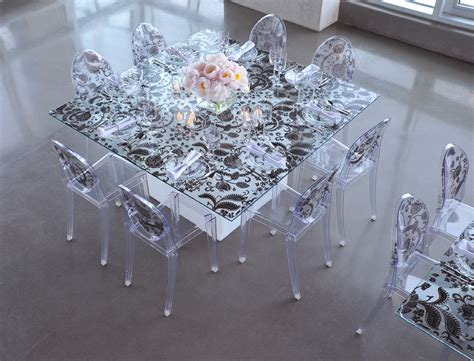 15 ghost chairs transparent modern and unique