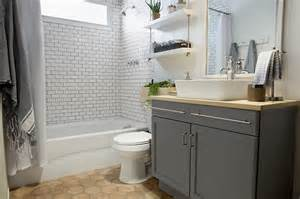 lowes bathroom design a builder grade bathroom transformation with lowe s interiors