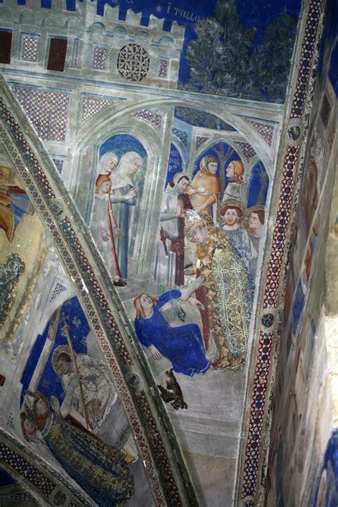 matteo giovannetti fresque de la chapelle saint martial