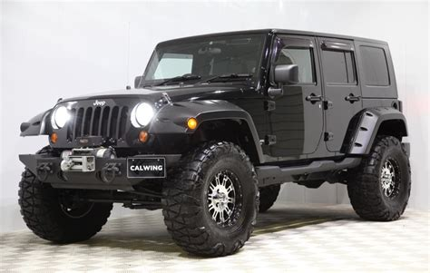 jeep wrangler custom black custom jeep wrangler by calwing