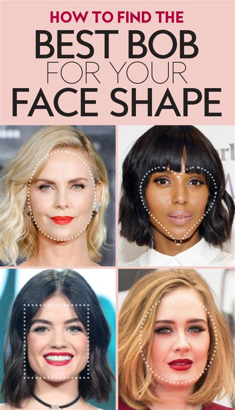 The Best Bob Haircut for Your Face Shape InStyle com