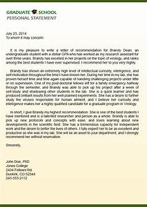 Sample Letter Of Recommendation For Graduate School Admission I Am Writing Letters Of Recommendation For Myself On The