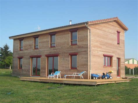 constructeur maison ossature bois maison moderne