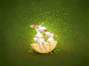3d, funny, mouse
