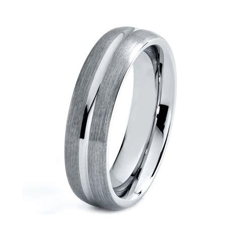 titanium wedding band men titanium rings mens wedding