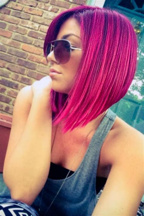 21 Loveliest Magenta Hair Color Ideas Health And Beauty