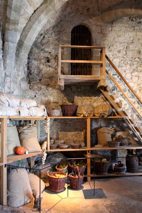 Interior Of Chillon Castle. Chateau De Chillon Editorial ...