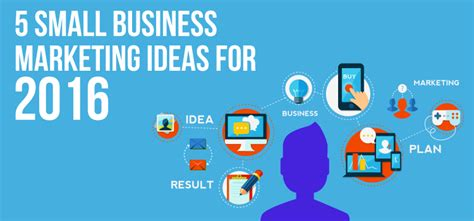 Marketing Ideas - 5 small business marketing ideas for 2016