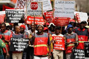 Powerful Trade Union Group Holds Strikes in South Africa ...