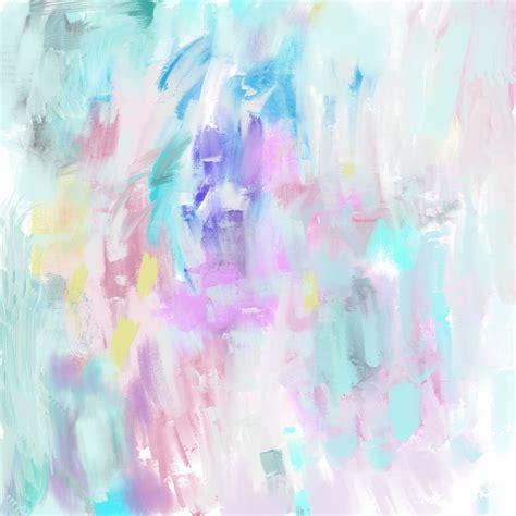 Pastel Oil Painting Background #2 Custom Designed