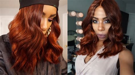 Ginger Spicecopper Redfire Red Blunt Bob Aliexpress West