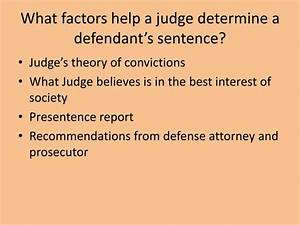 PPT - SENTENCING AND CORRECTIONS PowerPoint Presentation ...